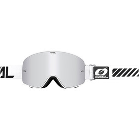 O'Neal B-50 Laskettelulasit, force white-mirror silver